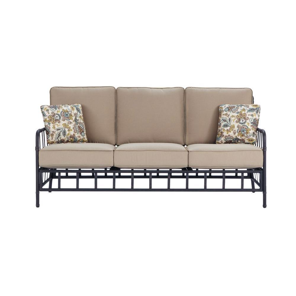 Martha Stewart Living Bryant Cove Patio Sofa