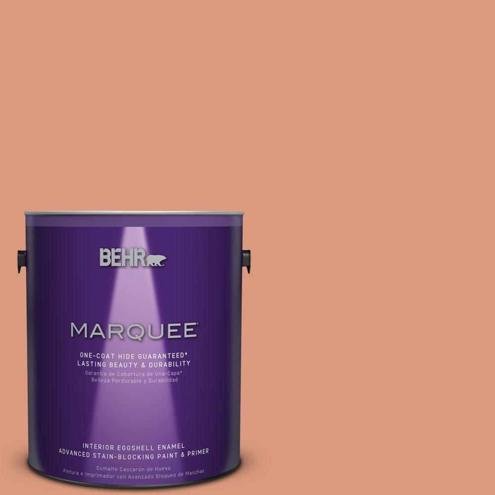 BEHR MARQUEE 1 gal. #MQ1-27 Dazzle and Delight One-Coat Hide Eggshell Enamel Interior Paint