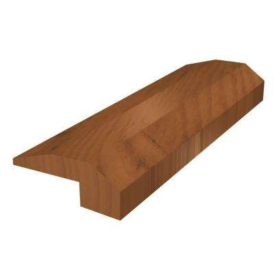 Gunstock 3/8 in. Thick x 2 1/8 in. Wide x 78 in. Length Threshold Molding