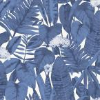 Tropical Blue Raspberry Peel and Stick Wallpaper, 28 sq. ft.