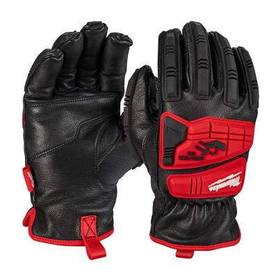 X-Large Level 5 Cut Resistant Goatskin Leather Impact Gloves