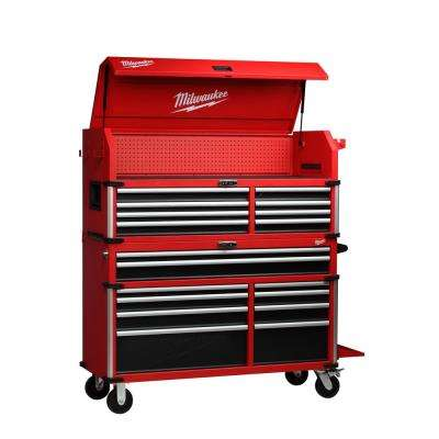 High Capacity 56 in. 18-Drawer Tool Chest and Cabinet Combo