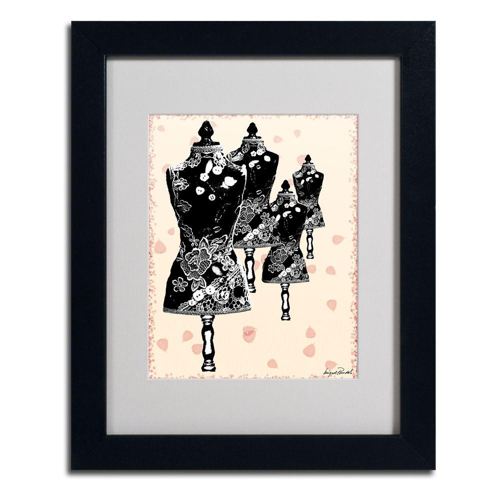 null 11 in. x 14 in. Tapestry I Matted Framed Art