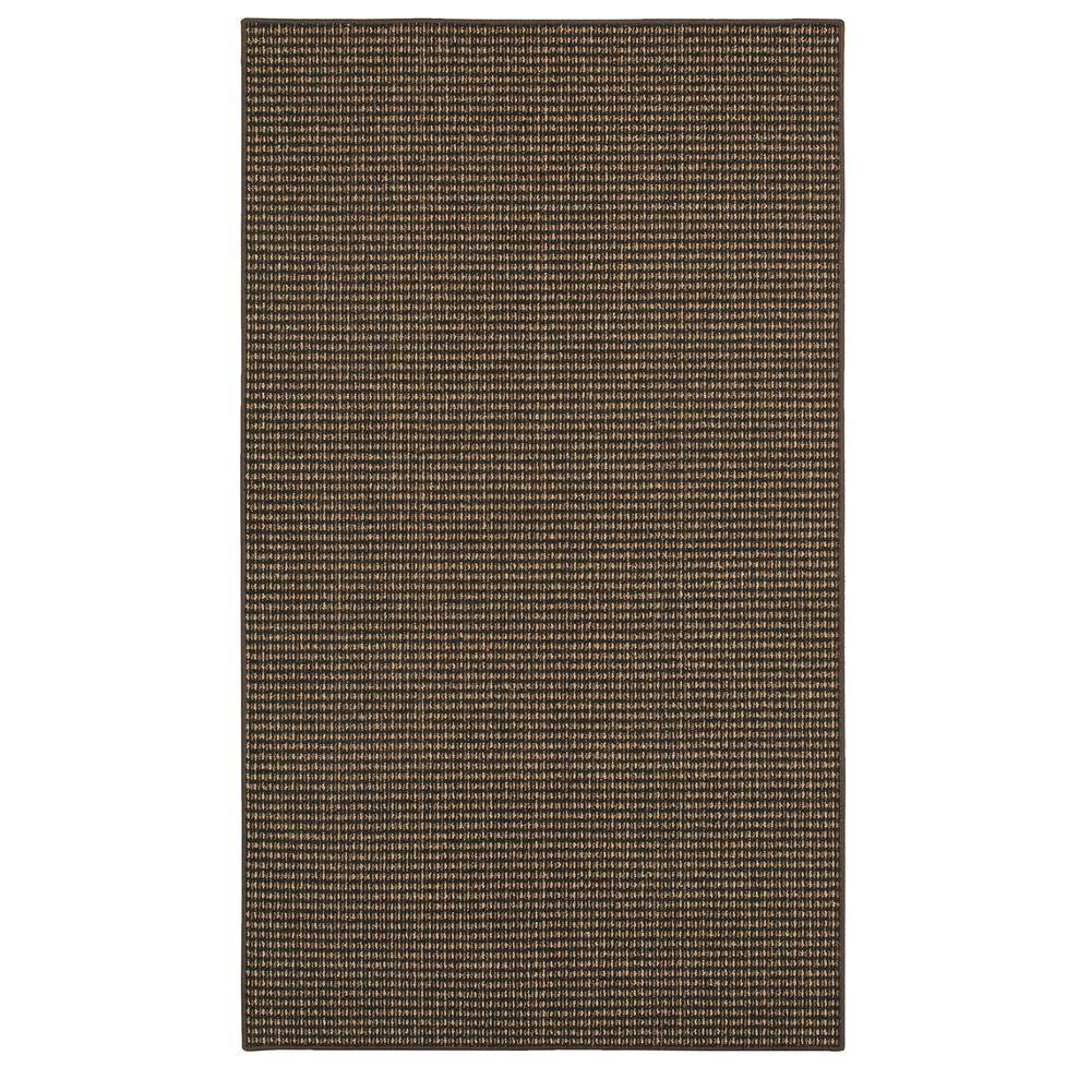 Mohawk Hopper Basket Black 1 ft. 8 in. x 2 ft. 6 in. Accent Rug