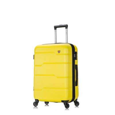 Rodez 24 in. Yellow Lightweight Hardside Spinner