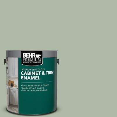 1 Gal. #N390-3 Jojoba Semi-Gloss Enamel Interior Cabinet and Trim Paint
