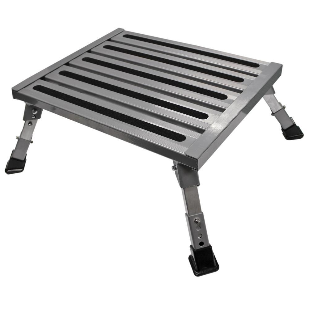 Adjule Aluminum Platform Step
