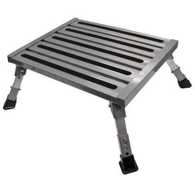 Adjustable Aluminum Platform Step