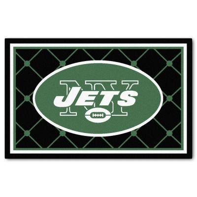 New York Jets 4 ft. x 6 ft. Area Rug