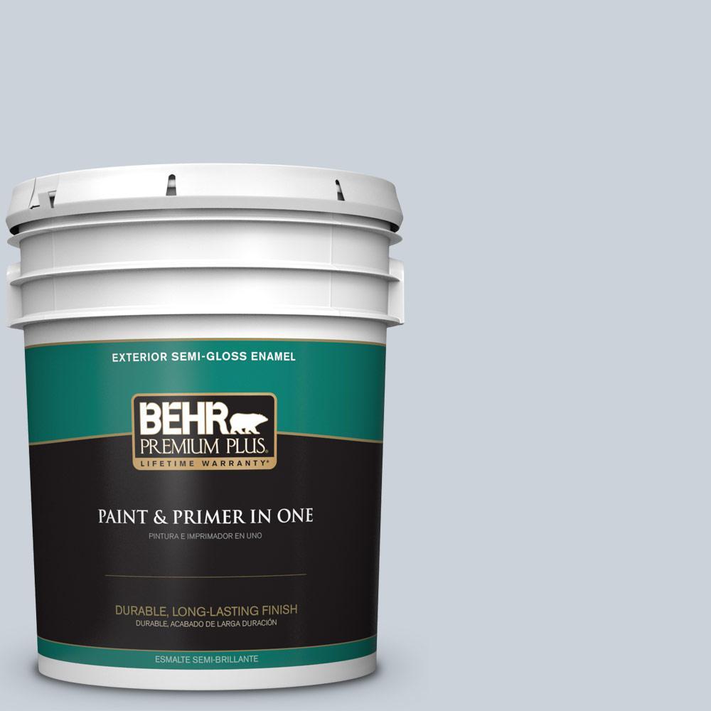 Behr Premium Plus 5 Gal N480 1 Light Drizzle Semi Gloss