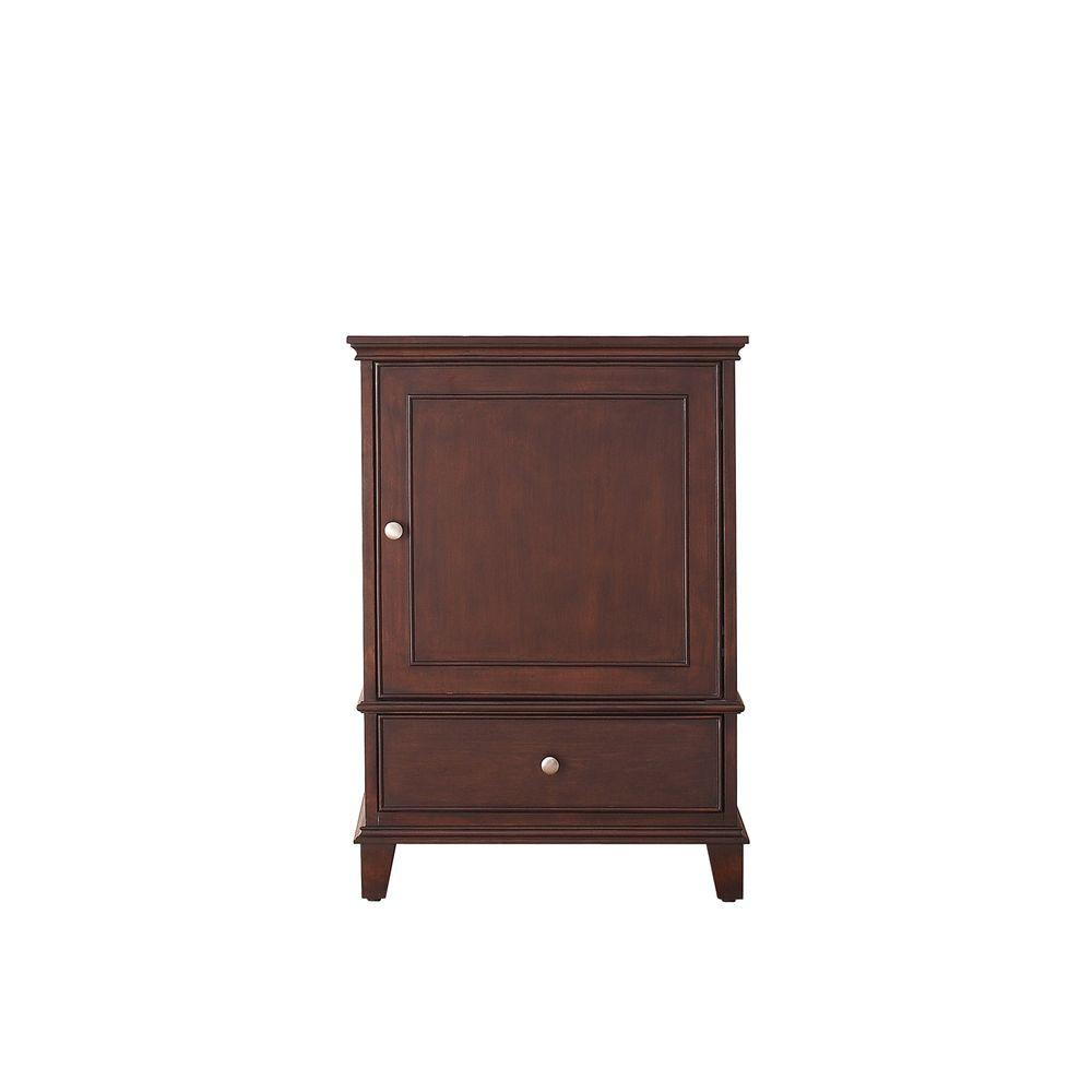 Avanity Windsor 24 In. W X 21.5 In. D X 34 In. H Vanity Cabinet Only In Walnut-WINDSOR-V24-WA