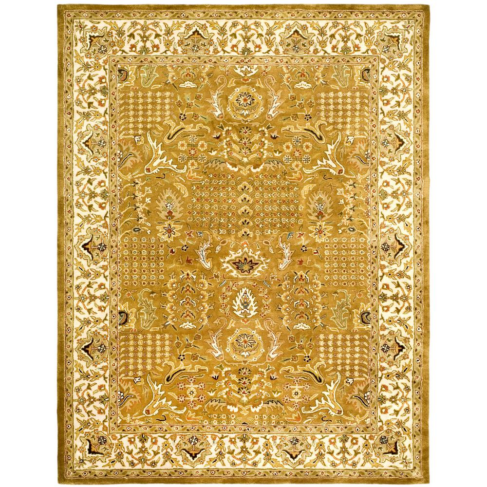 safavieh classic gold beige 6 ft x 9 ft area rug cl764a 6 the home depot. Black Bedroom Furniture Sets. Home Design Ideas