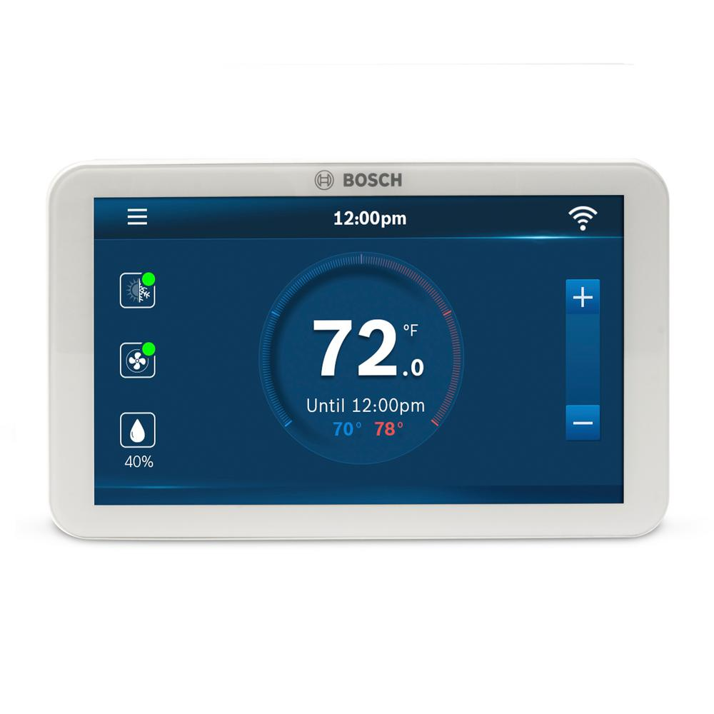 7-Day Wi-Fi Internet 4-Stage Programmable Color Touchscreen Thermostat with