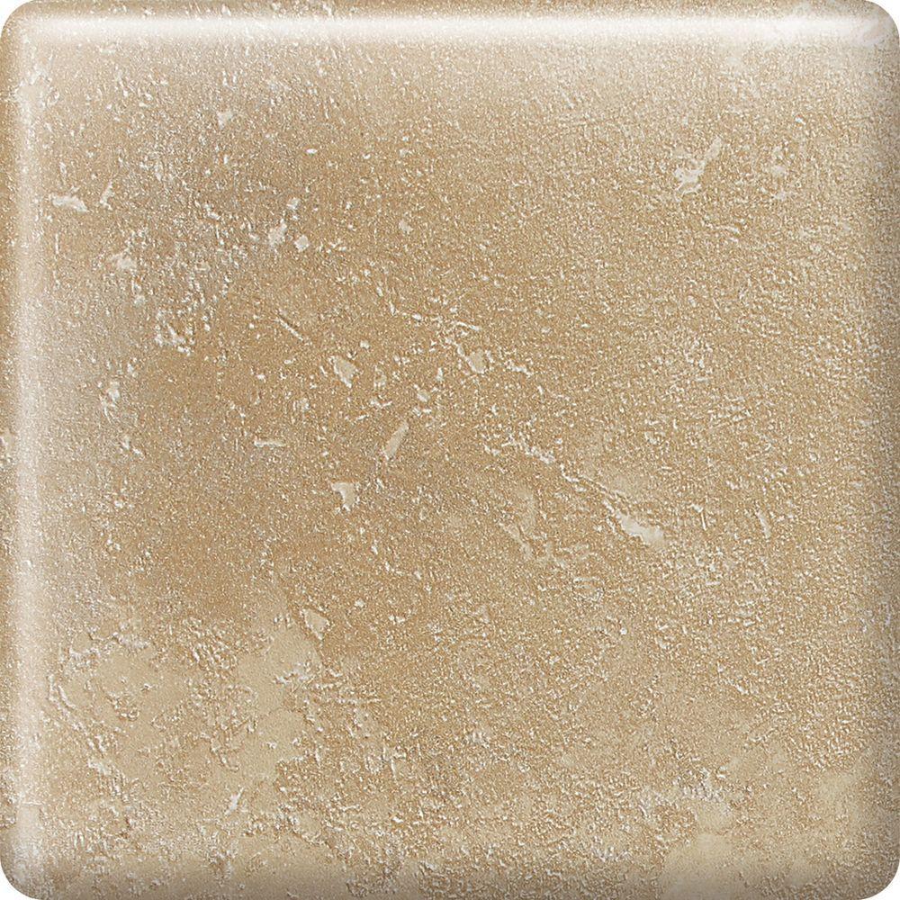 Sandalo Acacia Beige 2 in. x 2 in. Ceramic Bullnose Corner