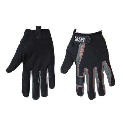 Journeyman Large Black High Dexterity Touchscreen Gloves