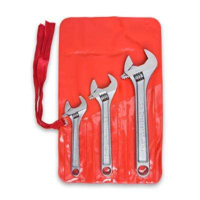 Adjustable Wrench Set (3-Piece)