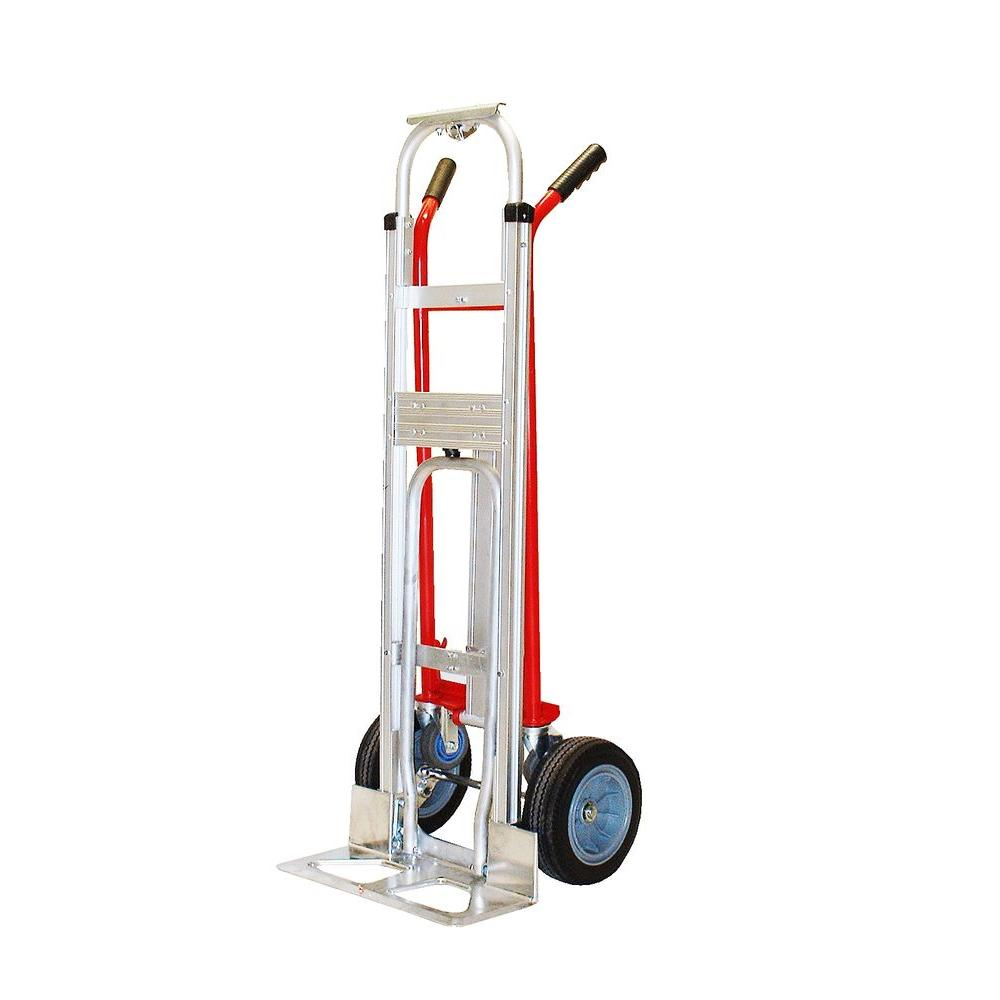 Milwaukee 1 000 Lb Capacity 4 In 1 Hand Truck 60137 The