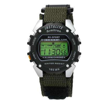 Pro Sport Green Digital Chronograph Watch
