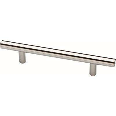 Essentials 4 In 102mm Center To Satin Nickel Steel Bar