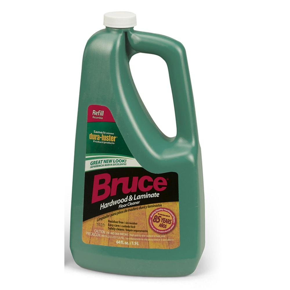 Bruce 64 fl. oz. Hardwood and Laminate Floor Cleaner Refill ...