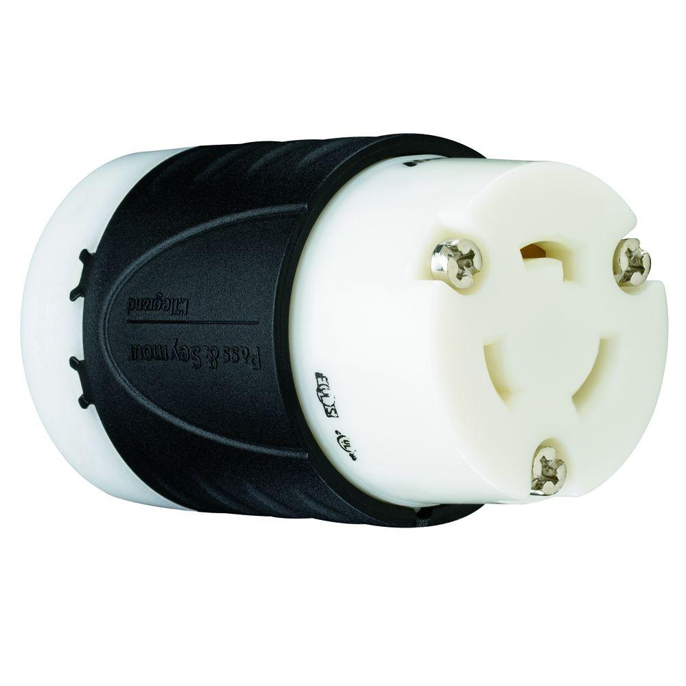 Legrand Pass and Seymour Turnlok 20 Amp 250-Volt Locking Connector