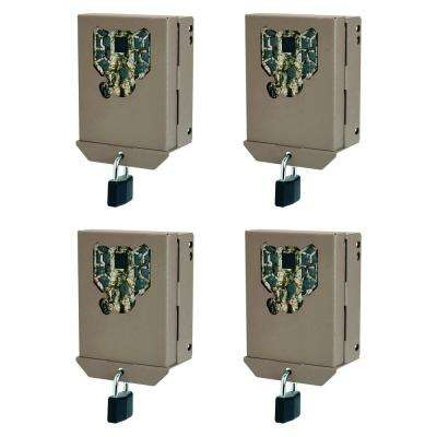PX Series Game Trail Camera Steel Security Case Box (4-Pack)