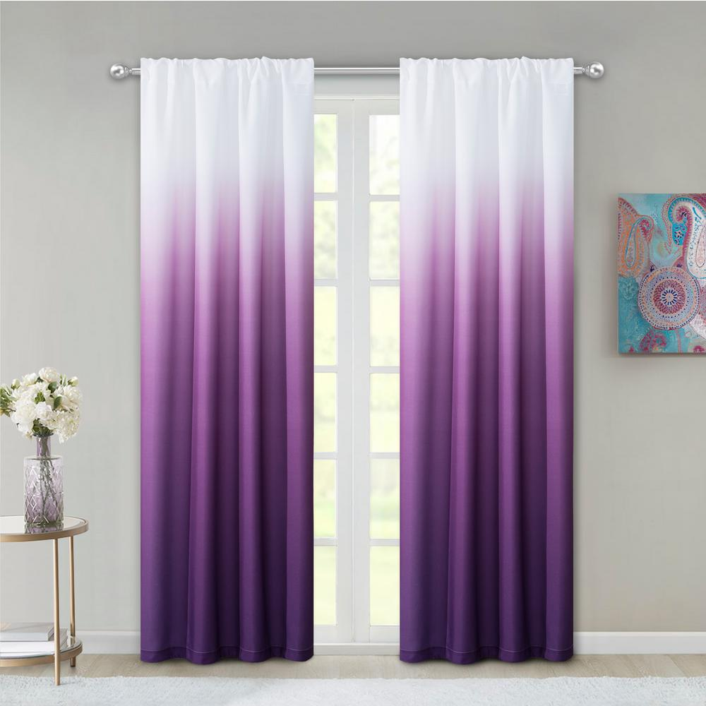 Dainty Home Shades Ombre Design Window