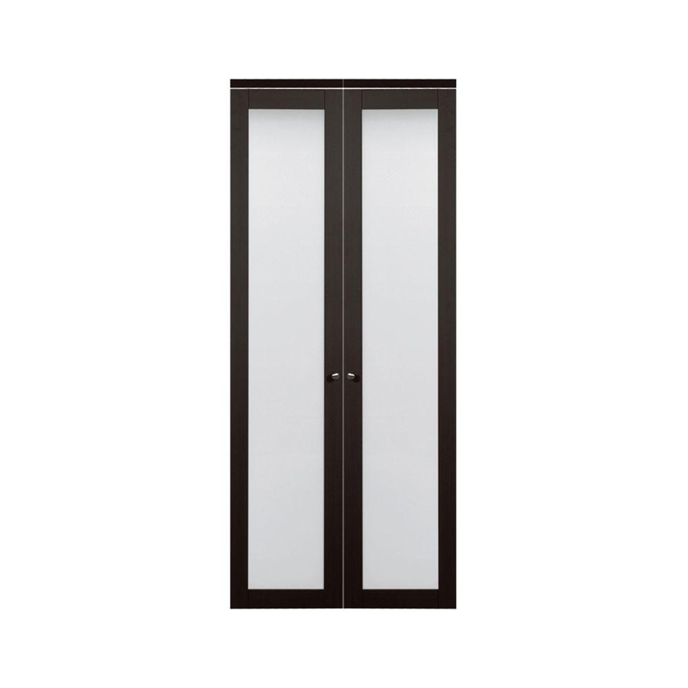 Truporte 30 in x 80 in 3030 series 1 lite tempered for 18 x 80 pantry door