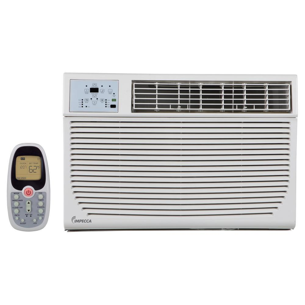 Impecca 12 000 btu 230 volt 208 volt window air for 12 000 btu window air conditioner with heat