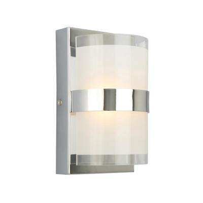 Haswell 6-Watt Polished Chrome Integrated LED Wall Sconce