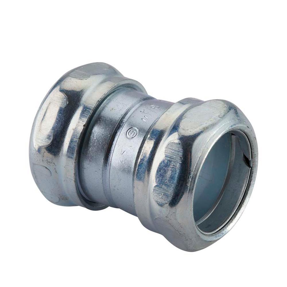 Halex in electrical metallic tube emt compression