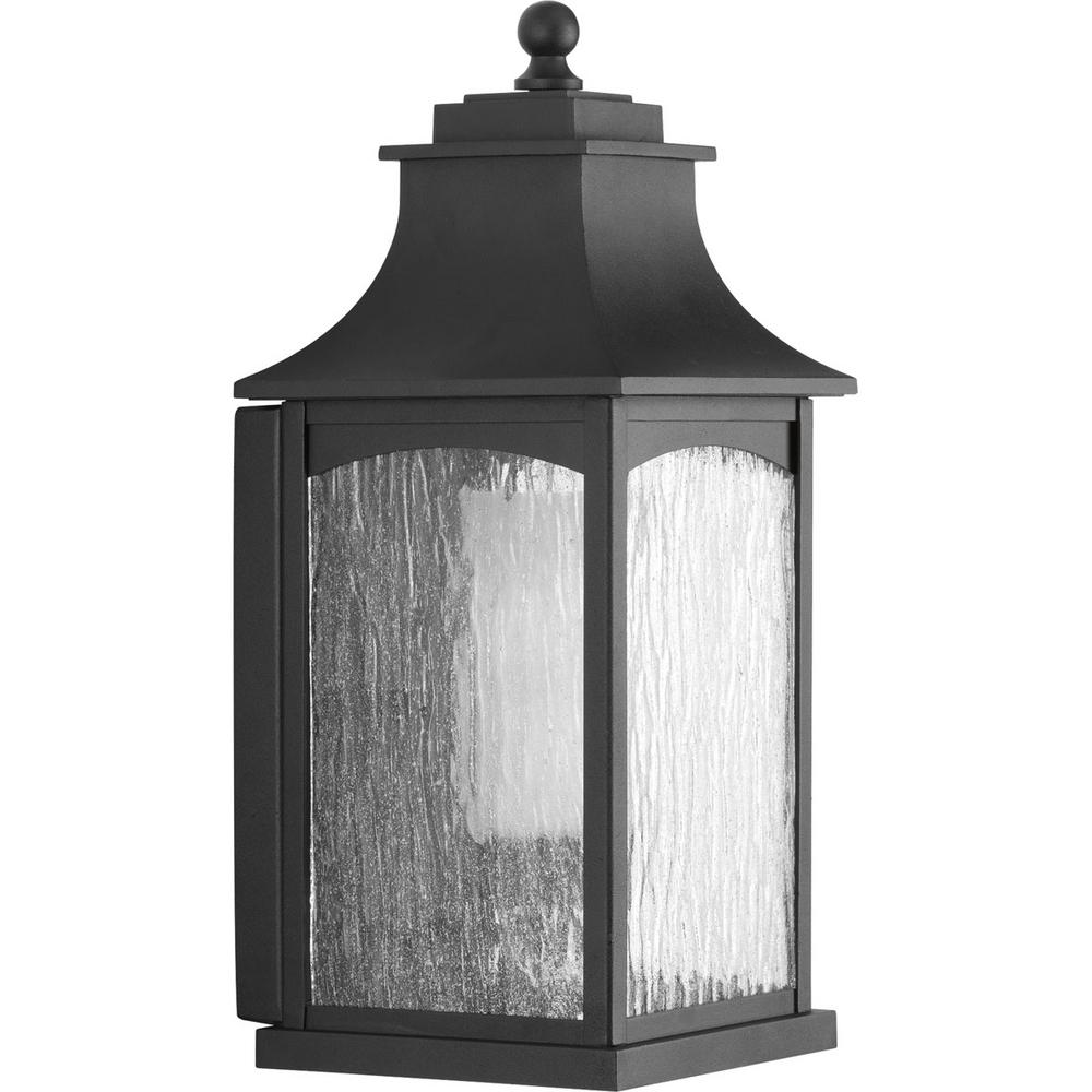 Progress Lighting Maison Collection 1-Light Outdoor Black Wall ...
