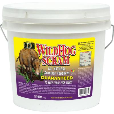 10 lbs. Wild Hog Repellent Granular Bucket