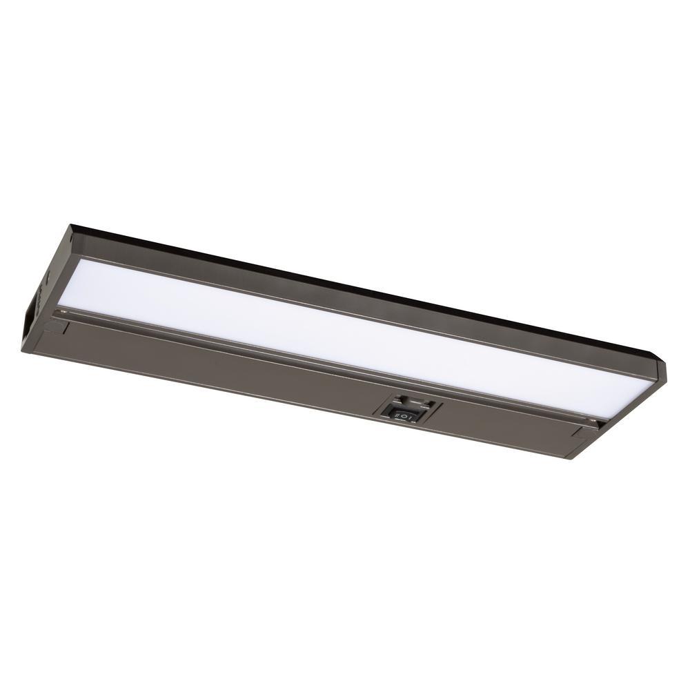 Koren 9 in. LED Rubbed Bronze Under Cabinet Light