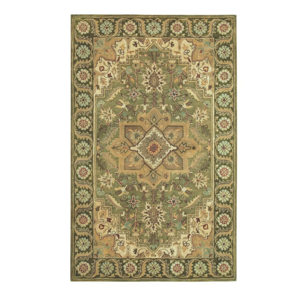 Home decorators collection normandie sage 3 ft 6 in x 5 for Home decorators echelon rug
