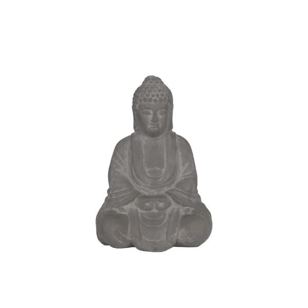 Urban Trends Collection 10.00 in. H Bowl Decorative Sculpture in Gray