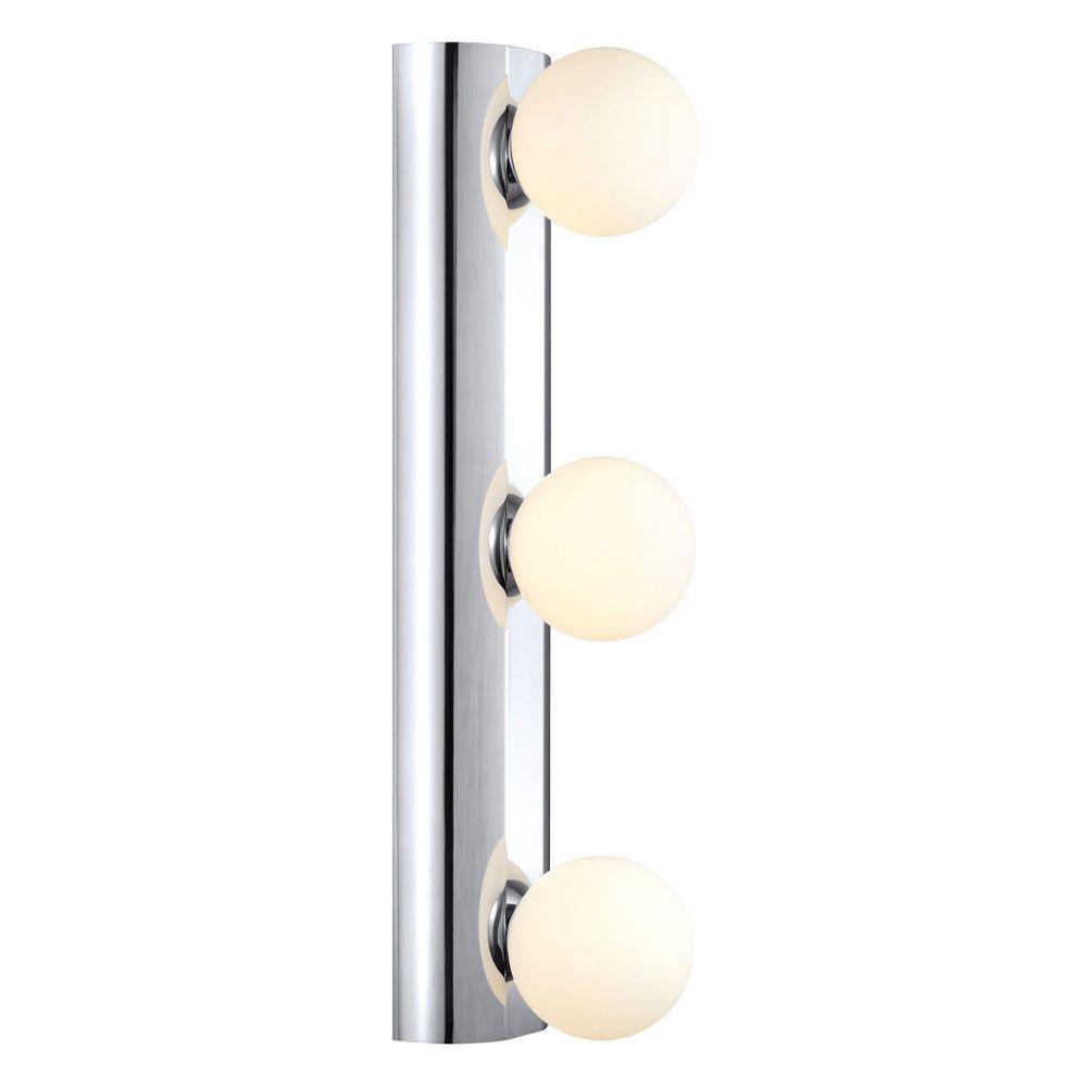 Eglo Neso 3-Light Chrome Wall/Ceiling Flushmount