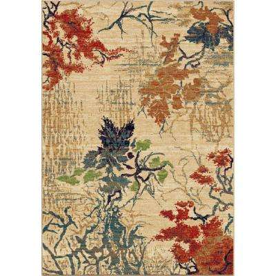 Abstract Forrest Multi 8 ft. x 11 ft. Indoor Area Rug