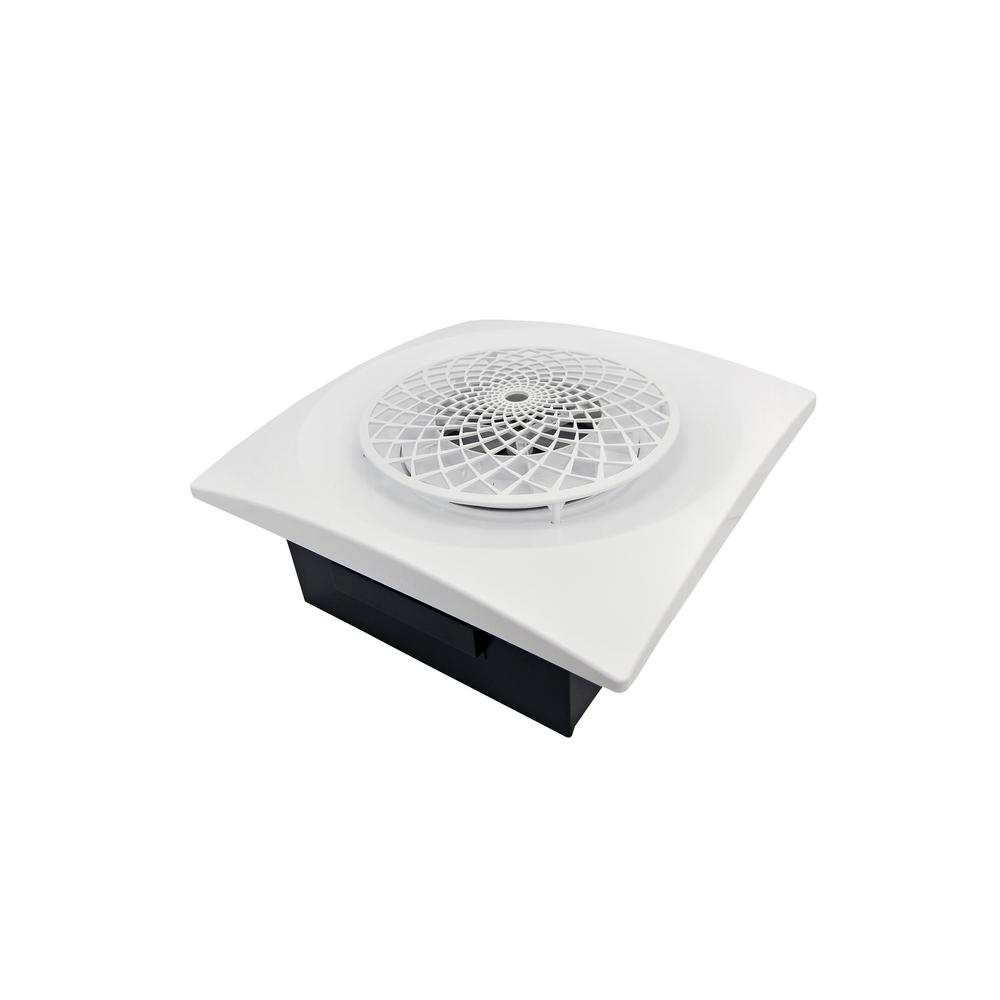 Slim Fit 60 CFM Remodeler Bathroom Exhaust Fan with Cyclonic Technology