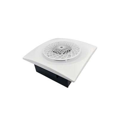 Slim Fit 60 CFM Remodeler Bathroom Exhaust Fan with Cyclonic Technology White