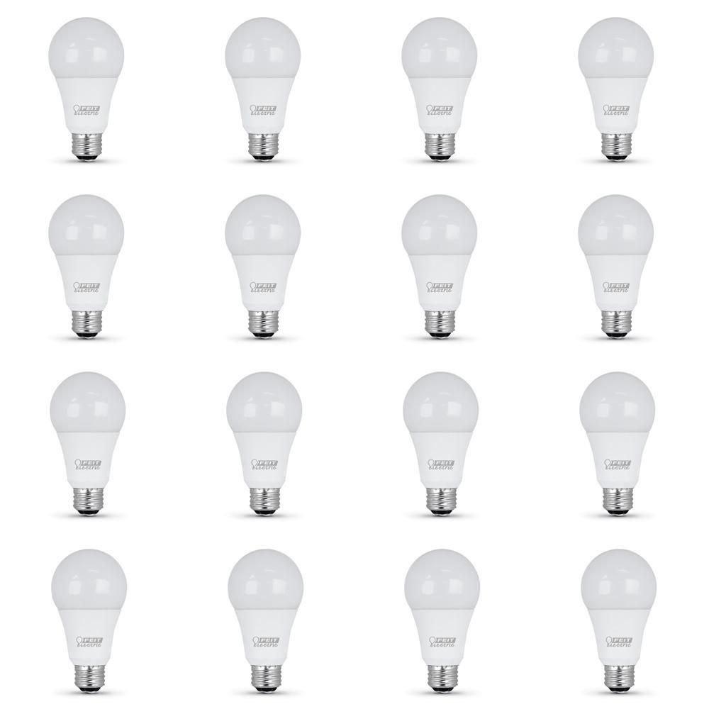 50/100/150-Watt Equivalent Soft White (2700K) A21 CEC Title 24 Compliant LED 3-Way 90+ CRI Light Bulb (12-Pack)