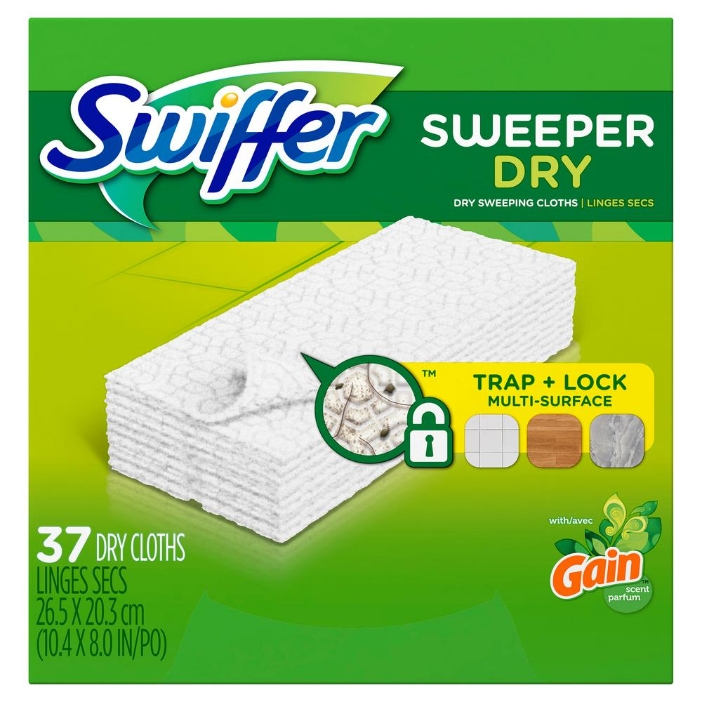 Swiffer Dry Sweeping Cloth Mop Pad Refills With Original