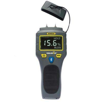 ToolSmart Bluetooth Connected Digital Moisture Meter