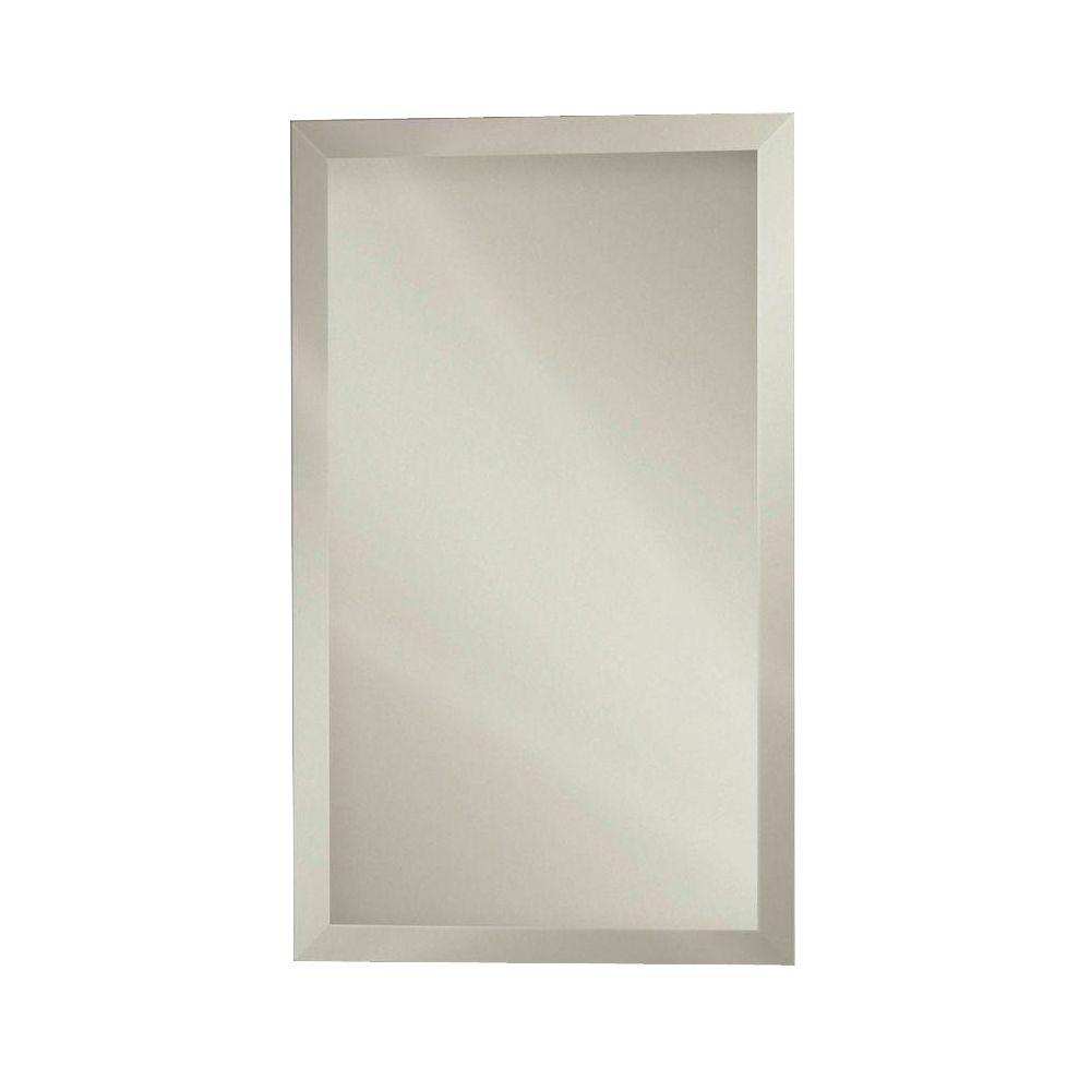 Studio IV 15 in. W x 25 in. H x 5 in D Recessed or Surface Mount Medicine Cabinet