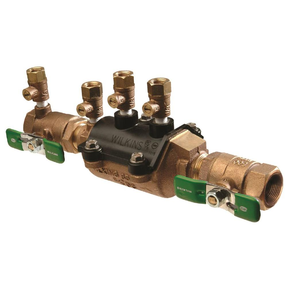Zurn-Wilkins 1-1/2 in. Lead-Free Double Check Valve Assembly