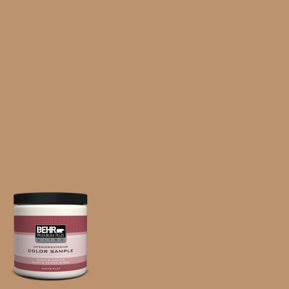 8 oz. #PMD-31 Sunset Cloud Flat/Matte Interior/Exterior Paint Sample