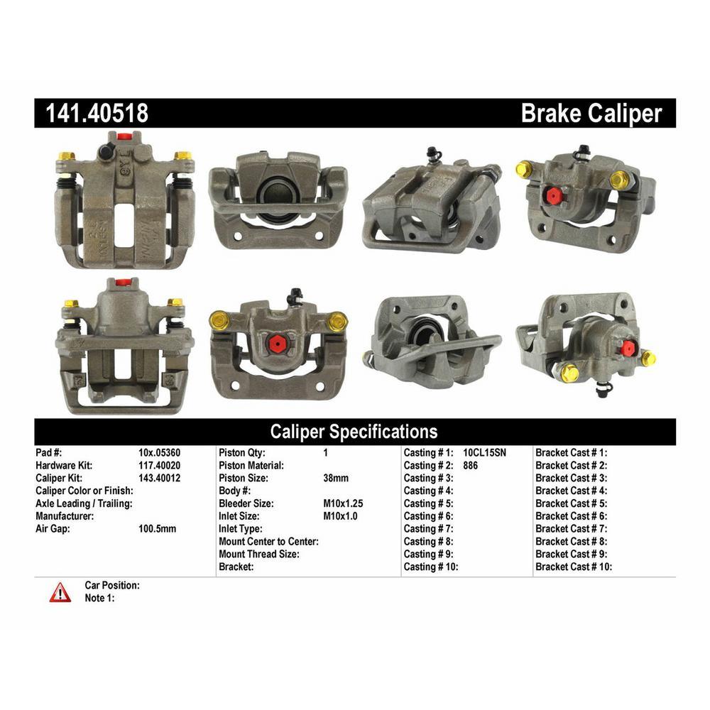 Acura ILX Brake Caliper, Brake Caliper For Acura ILX