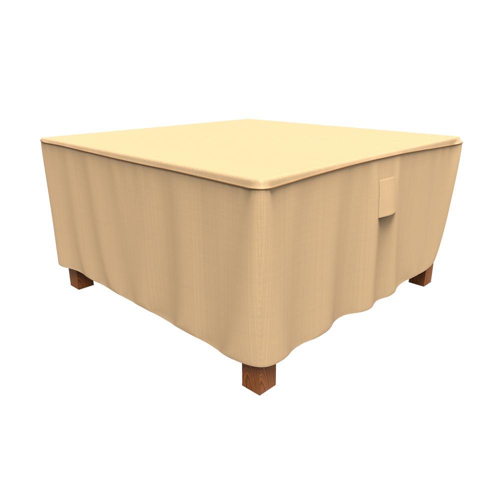 Rust-Oleum NeverWet Savanna Large Tan Square Patio Table Cover