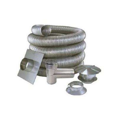 4 in. x 35 ft. All Fuel Stainless Steel Kit