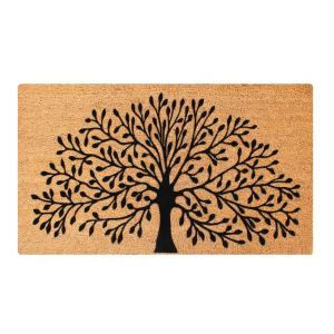 Click here to buy  A1HC First Impression Shredding Tree fade resistant 24 inch x 36 inch Flocked Coir Door....